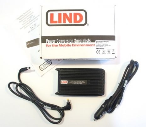 Lind CF-LND80S-FD Toughbook 12-32 Vdc Car Charger - New | Go-Rugged